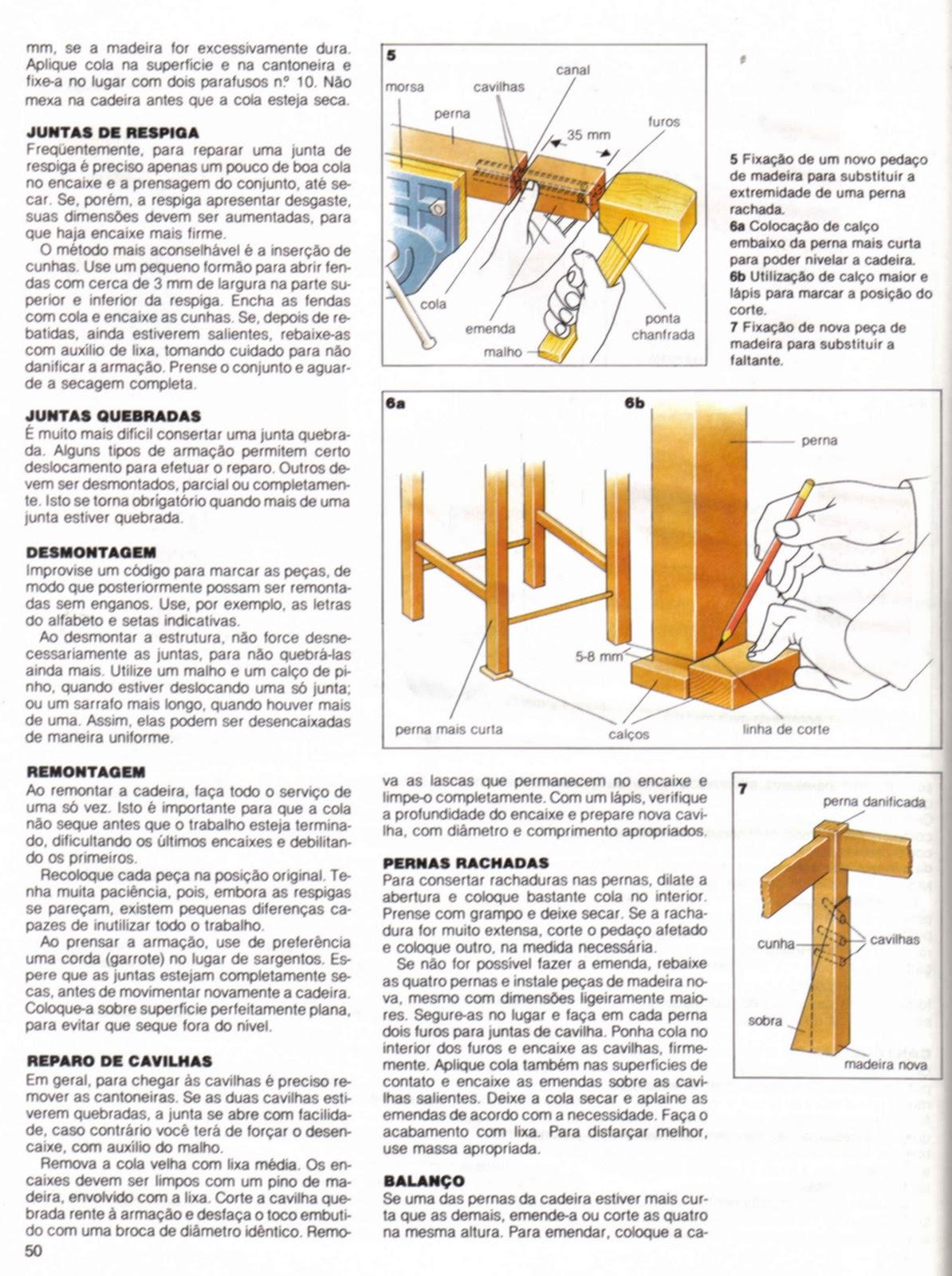 Mundo da Luci: Como Reformar Armações de Cadeiras Passo a Passo #B88B13 1194x1600