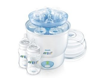 avent naturally express bottle warmer instructions