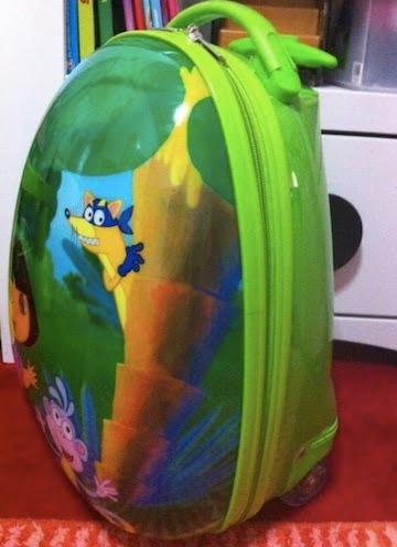 Macam-Macam-Ada: Dora Eggshell Luggage Bag