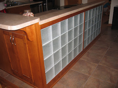 Birch mission style kitchen lighted frosted glass for Mission style entertainment center plans