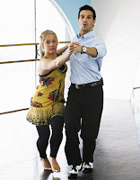 Dancing with the Stars, Shawn Johnson and Mark Balas at practice image photo picture