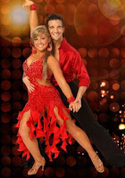 Shawn Johnson and Mark Balas Dancing with the Stars image phot picture