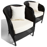 black wicker patio chairs image photo picture