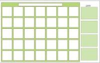 dry erase wall calendar image