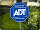 ADT Home Security Sign for the Yard image