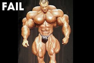 ugly muscle man image