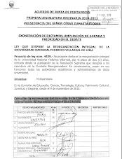 Proyecto de Ley y con exoneración de trámite