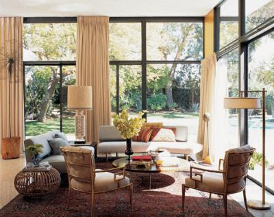 Site Blogspot  Trina Turk Dress on Trina Turk S Living Room In Her Los Angeles Home  A Mix Of New And