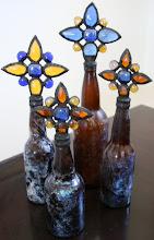 Blue and Amber Hues