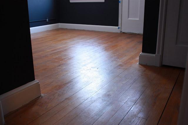 Russet Street Reno Art Room Floor