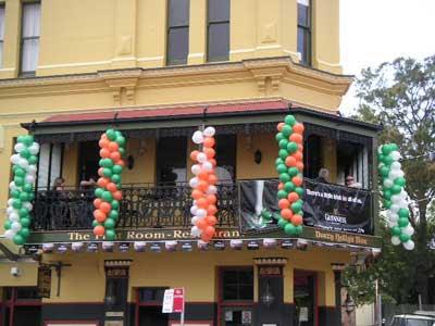 St Patrick's Day na Austrália stpats