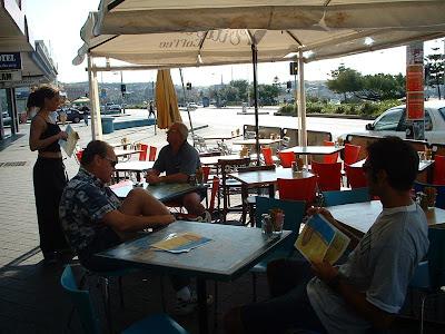 Bondi Beach breakfast