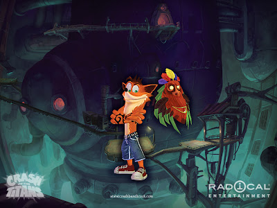 crash bandicoot wallpaper. CRASH BANDICOOT WALLPAPERS