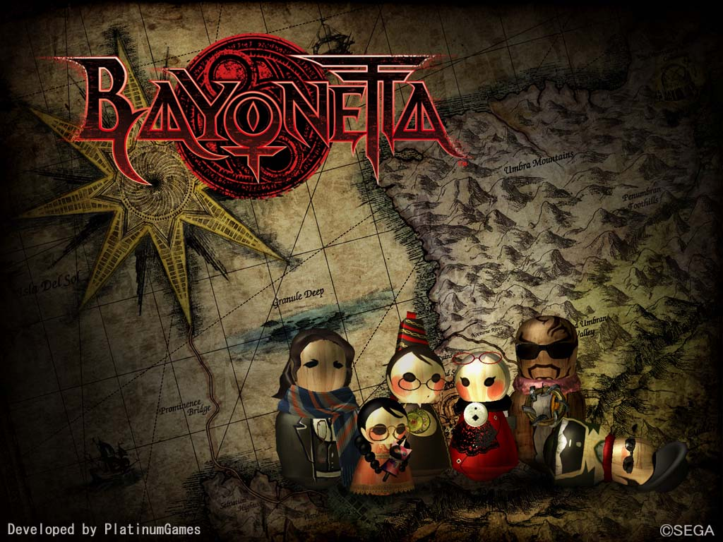 Bayonetta HD & Widescreen Wallpaper 0.228430481359586