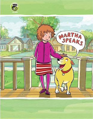 how to draw martha speaks