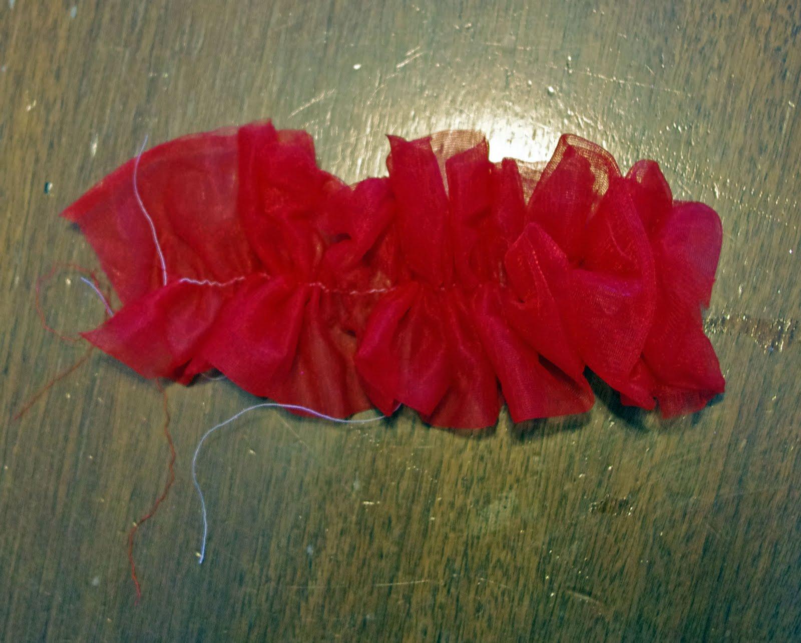 SquigglyTwigs Designs Tuesdays Tute Bias Fabric Flowers