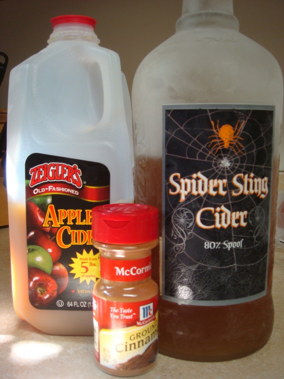 The Domestic Life: Hot Spiked Cider