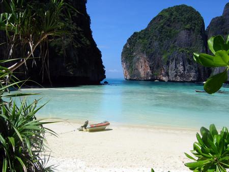 La playa en Tailandia