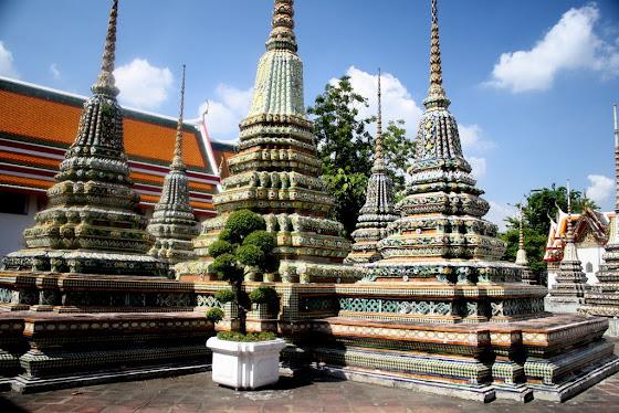 Este es otro de los templos a los que fui en Bangkok