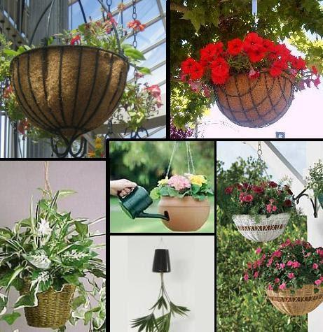 Jardiner a paisajismo macetas colgantes for Bordillos de plastico para jardin