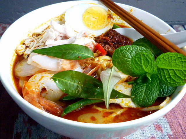 ... my friends and readers for curry laksa laksa lemak but with all the