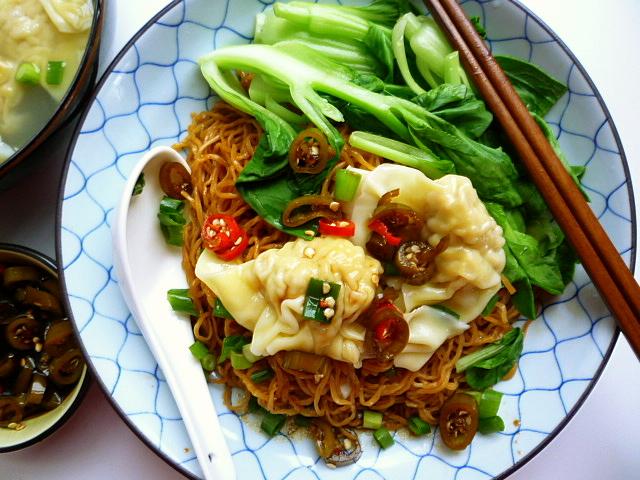 "... Dry Tossed Wonton Noodles 乾撈雲吞麵 - ""Malaysian Monday 22"