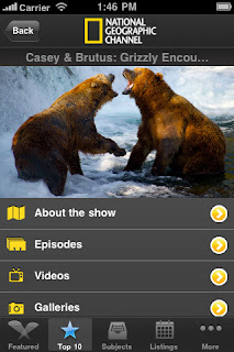 National Geographic TV iOS