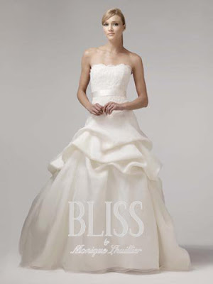 Finally a chic bridal gown from Monique 39s Spring 2009 collection