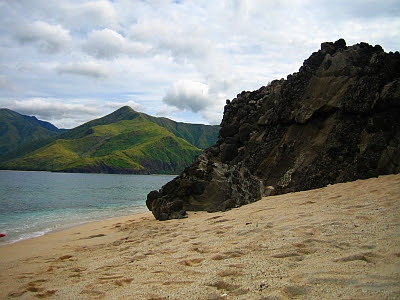 capones island beach