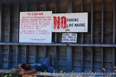 Funny Sign on Philippines Funny Signs Signspotting No Love Making Jpg