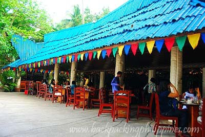 Dakak Beach Resort restaurant