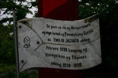 emilio jacinto marker