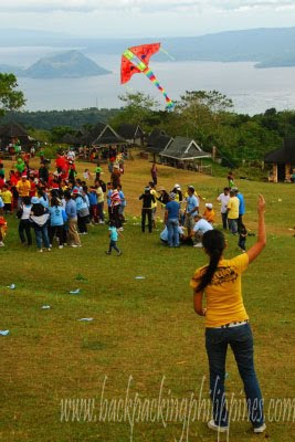 tagaytay picnic grove kite flying