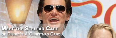 the star studded cast of disneys a christmas carol is led by multi faceted actor jim carrey who portrays the lead character ebenezer scrooge at various - Disneys A Christmas Carol Cast