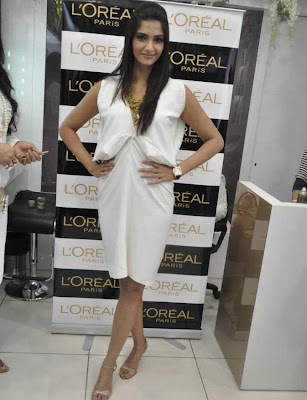 Sonam Kapoor at launch of Golden Girl Spring 2010