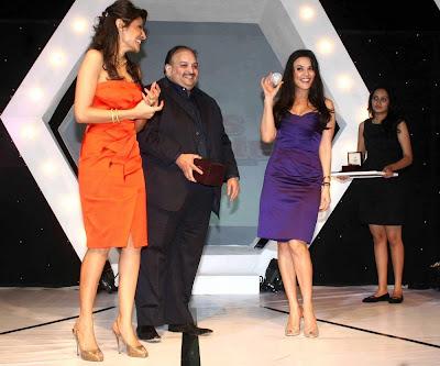 Preity Zinta at the Sports illustrated Awards