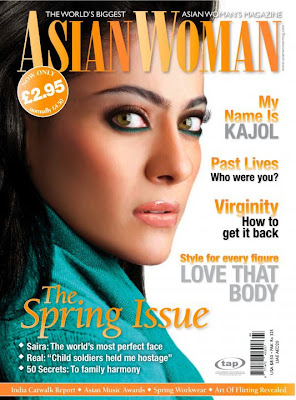 Kajol on Asian Woman Magazine