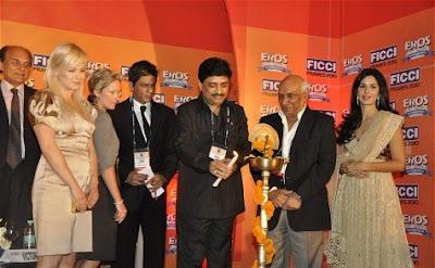 Shahrukh Khan at the Inaugural of FICCI Frames