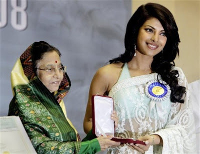 Priyanka Chopra at 56th National Film Awards