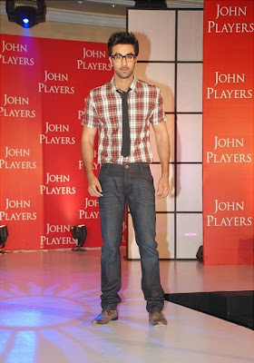 Ranbir Kapoor at the John Players Press Conference