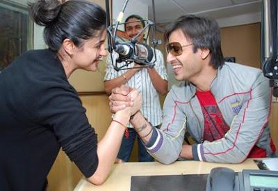 Vivek Oberoi Promotes his movie Prince at RadioCity Studios