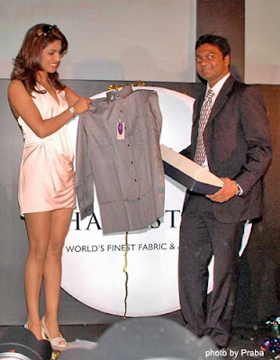 Priyanka Chopra at J hampstead Premium Shirts Launch