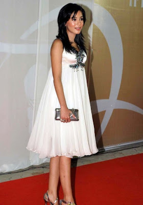 Amrita Rao at Sahara IPL Awards Red Carpet