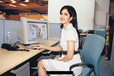 Katrina Kaif at DNA Office