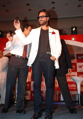 Saif Ali Khan at the launch of Wyncom Mobile