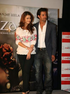 Aishwarya Rai at Guzaarish Press Conference