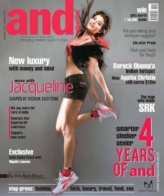 Jacqueline Fernandez on Andpersand Magazine