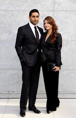 Aishwarya Rai at the Giorgio Armani Show
