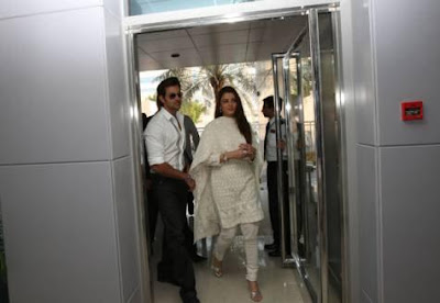 Aishwarya Rai Bachchan at Gulf News Office in Dubia