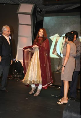 Aishwarya Rai at the Teachers Awards